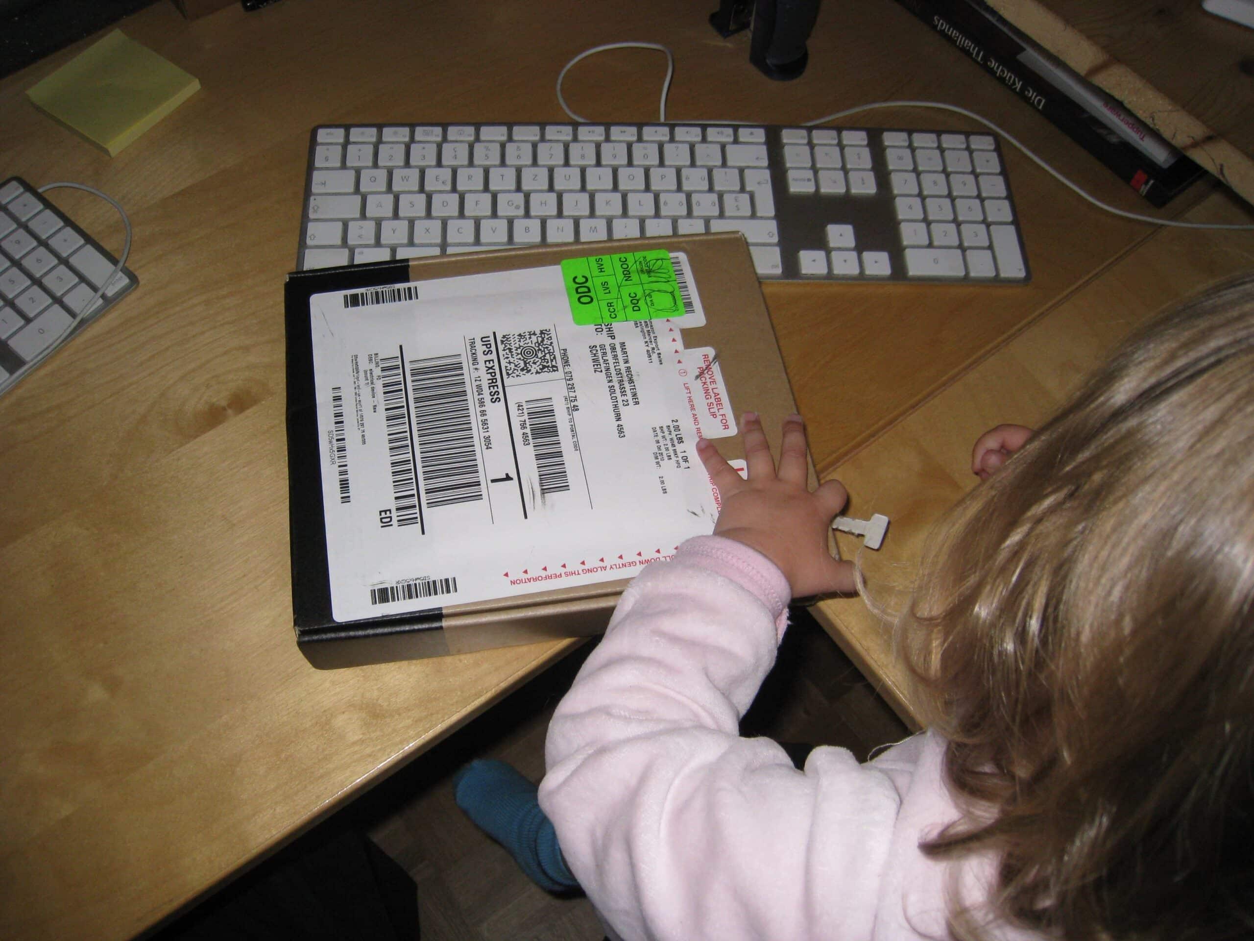 Amazon Kindle – Auspackzeremonie