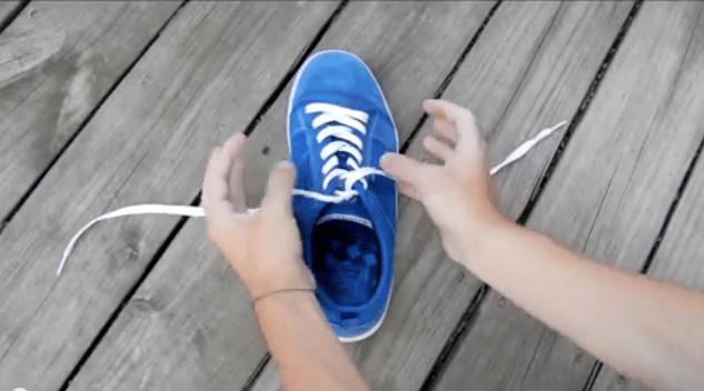 Zeit sparen – Wie bindet man richtig Schnürsenkel – Video