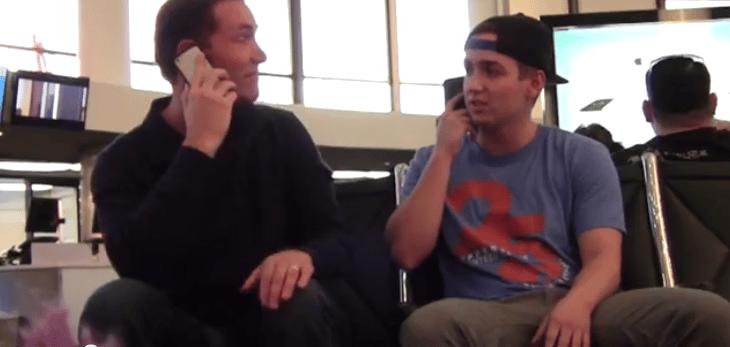 Video – wie nervende vieltelefonierer schnell leiser werden